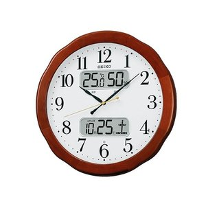SEIKO CLOCK セイコー SEIKO 電波時計 掛け時計 KX369B|1more