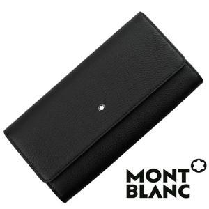 モンブラン MONTBLANC  ウォレット  メンズ ブラック   長財布  MB-114469|1more