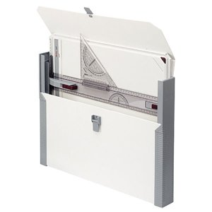 ロットリング ラピッドボード A3 カレッジケース付き S0232980(523403) 製図ボード 三角スケール付き 定規 三角定規|1more