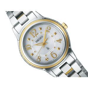 ルキア SSVE SEIKO LUKIA セイコー ルキアソーラー 電波 レディース腕時計 シルバー SSVE058 正規品 ネコポス不可|1more