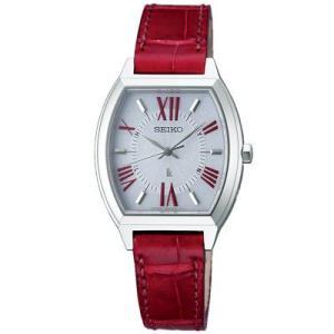 ルキア SSVE SEIKO セイコー ルキア 腕時計 レディース ソーラー 電波 レッド SSVE061 正規品 ネコポス不可|1more|02