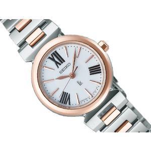 SEIKO LUKIA セイコー ルキア レディース腕時計 ソーラー ホワイト ピンクゴールド SSVR084 ネコポス不可|1more
