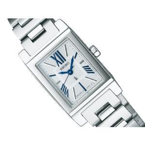 SEIKO LUKIA セイコー ルキア レディース腕時計 ソーラー ホワイト ブルー SSVR087 ネコポス不可|1more