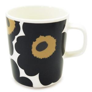 マリメッコ マグカップ 063431 030/WHITE×BLACK ホワイト×ブラック|1pia