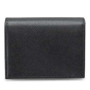 プラダ 折財布  ブラック 黒 1MV204 QWA F0002/SAFFIANO METAL NERO|1pia|03
