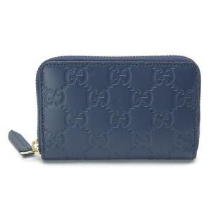 グッチ カードケース 447939 CWC1G 4157 ダークブルー|1pia