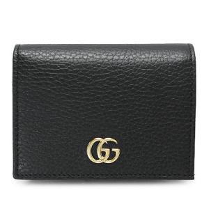 グッチ カードケース PETITE MARMONT 456126 CAO0G 1000 ブラック|1pia