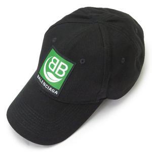 バレンシアガ キャップ  BBロゴ ブラック 黒 593188 410B2 1000 1pia