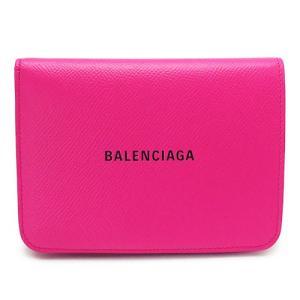 バレンシアガ 折財布 レディース  財布 二つ折り レザー アシッドフューシャ ピンク系 BALENCIAGA 594205 0OTV3 5660 1pia