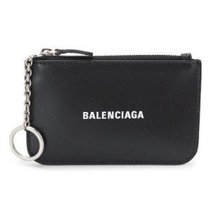 バレンシアガ コインケース  財布 小銭入れ カードケース キーケース レザー ブラック 黒 594324 1I313 1090 1pia
