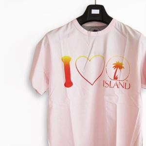特価品/Tシャツ/カットソー 半袖 アイランド ISLAND ロゴ DIRTY PINK/ダーティーピンク LOVE TEE ISL1003/island0002|1pia