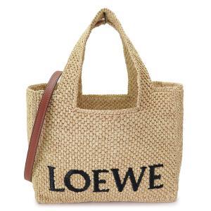 ロエベ トートバッグ レディース A223S92X04 2163 バスケットバッグ かごバッグ ヤシの葉 ナチュラル/ホワイト LOEWE BASKET BAG NATURAL/WHITE|1pia