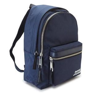 マークジェイコブス リュックサック  ミッドナイトブルー M0014031 415/MIDNIGHT BLUE TREK PACK MEDIUM 1pia