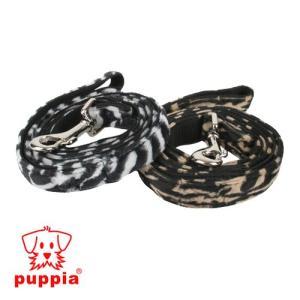 【即日発送可】犬用リード/リーシュ/15mmサイズ/ファッション/PUPPIA(パピア)/ゼブラリード/PAID-AL575(15ミリ) /zaiko|1pia