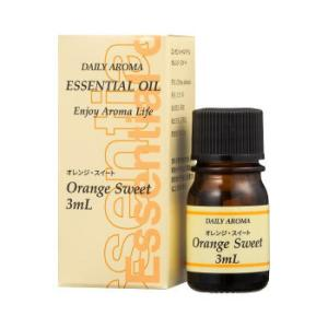 デイリーアロマジャパン エッセンシャルオイルミニ オレンジスィート 13620の商品画像|ナビ
