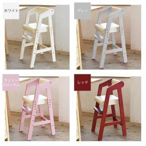 Kidzoo キッズー ハイチェア ベビーチェア キッズチェア 高さ調整  木製 ベビー用品 赤ちゃん ネイキッズ nakids|1st-kagu|12