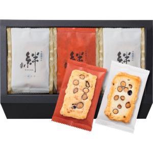 大阪前田製菓 丹波黒豆おかき 絆 M-15 ギフト包装 (直送品)の商品画像 ナビ