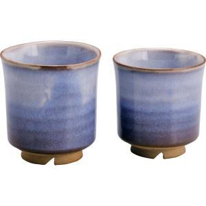 ●サイズ:湯呑大:Φ8×9cm、湯呑小:Φ7.5×8cm●材質:陶器●箱サイズ:12×19×10.5...