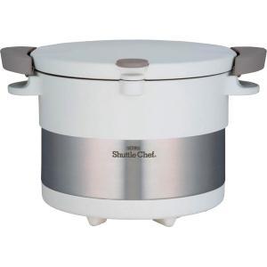 のし無料■サーモス 真空保温調理器 シャトルシェフ(3L)ピュアーホワイトKBC-3001PWH【C7199639】