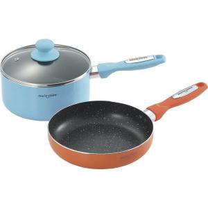 ●容量:鍋:2L●材質:本体:アルミニウム合金(内面マーブルふっ素樹脂塗膜加工)、貼り底:ステンレス...