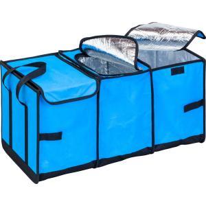 在庫限り アストロ 車用収納ボックス ブルー ビッグサイズ 保冷 保温 大容量 607-16 1storage
