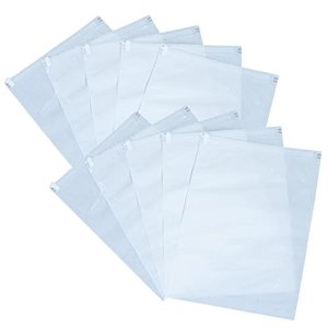 在庫限り 圧縮袋 10枚組 衣類用 Lサイズ 手巻きタイプ ホワイト 片面透明 丈夫な厚手フィルム 旅行 トラベル 小物保管 アストロ 623-23 1storage