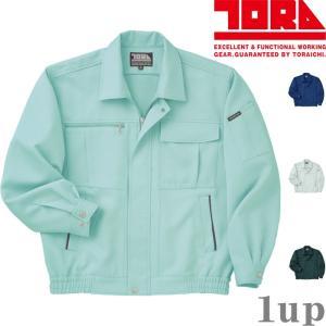 寅壱 作業服 作業着 1360-124 長袖ブルゾン 「M-LL」|1up