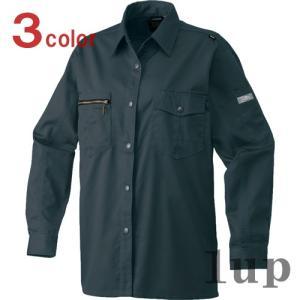 寅壱 作業服 作業着 2110-676 レディースシャツ 「S-LL」 1up