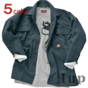 寅壱 作業服 作業着 4309-301 トビシャツ 「M-LL」(鳶衣料 年間)|1up