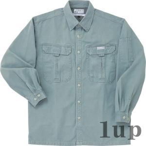 寅壱 作業服 作業着 5280-125 長袖シャツ 「4L」【廃番特価】(カラー・サイズにより経年変化あり)|1up