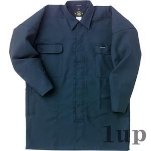寅壱 作業着 鳶服 7001-301 トビシャツ 「M〜LL」 【廃番特価】(カラー・サイズにより経年変化あり)|1up