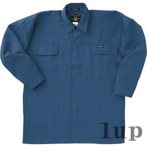 寅壱 作業服 作業着 7016-301 トビシャツ 「M-LL」(鳶衣料 春夏用)|1up