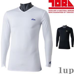 寅壱 作業服 作業着 7985-664 長袖VネックTシャツ 「M-LL」|1up