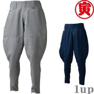 寅壱 作業服 作業着 8021-407 乗馬ズボン 「90cm-100cm」(鳶衣料 年間)|1up