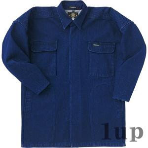寅壱 作業服 作業着 8200-301 トビシャツ 綿100% 「M-LL」(鳶衣料 年間)|1up