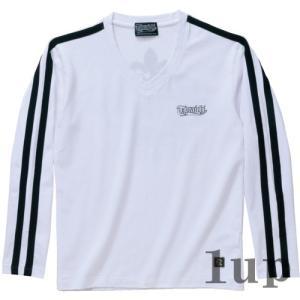 寅壱 作業服 作業着 限定生産品 9281-617 ロングTシャツ(ライン入り) 「M-LL」|1up