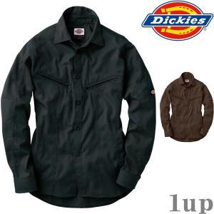 Dickies 作業服 作業着 D-1088 長袖シャツ 「M-3L」(年間)|1up