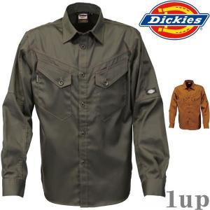 Dickies 作業服 作業着 D-1238 長袖シャツ 「S-5L」(年間)|1up