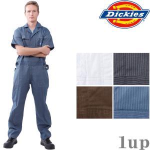 ディッキーズ つなぎ 713 半袖 ツヅキ服 「4L〜5L」(Dickies ツナギ カバーオール 春夏)|1up