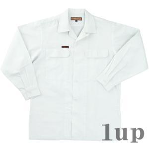 関東鳶 作業着 950 OP-220 刺子オープンシャツ 綿100% 「4L」(395003 鳶衣料 年間)|1up