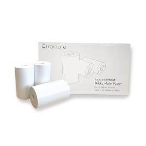 Cubinote PRO 交換カートリッジペーパー そのまま貼付け、感熱印刷対応|201912