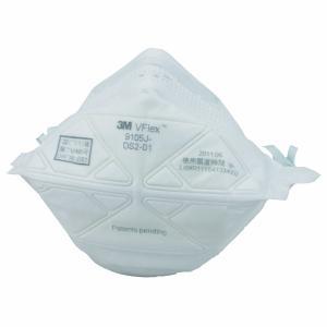 使い捨て防じんマスク 3M 9105J-DS2(20枚入り) 溶接ヒュームから守るDS2規格品【PM2.5対応】☆折りたためて、フィット感抜群|21248