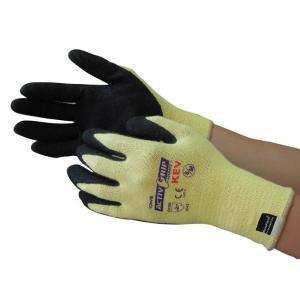 耐切創(耐カット)手袋 ケプラー・ニトリルゴム No.591アクティブグリップケブラー(12双)東和コーポレーション 21248