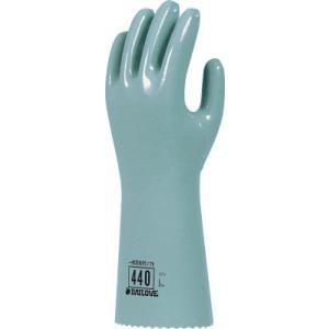 耐溶剤手袋 ダイヤゴム ダイローブ 440|21248