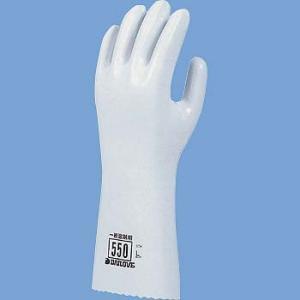 耐溶剤手袋 ダイヤゴム ダイローブ 550|21248