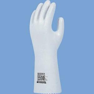 耐溶剤手袋 ダイヤゴム ダイローブ 5500|21248