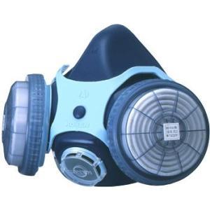 防じんマスク 興研 1121R RL2【呼吸が楽なダブルフィルター(吸気抵抗Pa44)】|21248