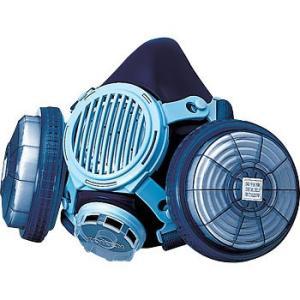 防じんマスク 興研 1191SD RL2【呼吸しやすいダブルフィルター】【装着しやすいRBタイプのしめひも】【伝声器付き】|21248