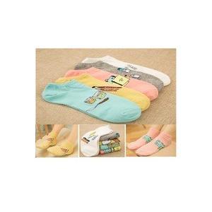 靴下 ソックス レディース 22-24cm 5足セット プレゼント お買い得 送料無料 WS0440|21technology