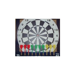 ダーツゲーム オリジナル作成用ボード(プラスチックネット)|24kogyo